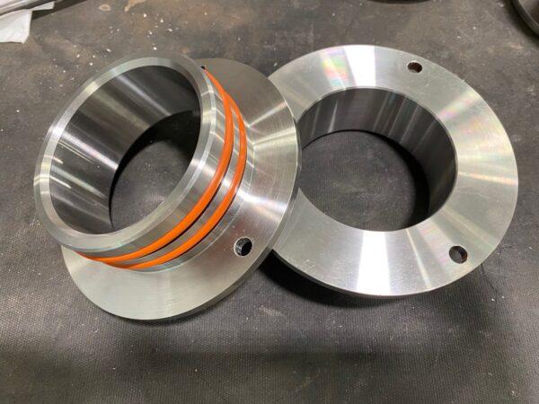HX82 Compressor rotated